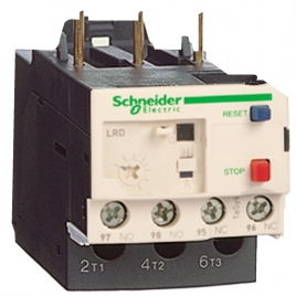施耐德热过载继电器 LRD02C