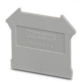 菲尼克斯端板 - D-UK 4/10 - 3003020