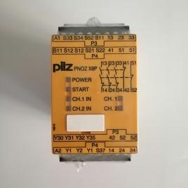 皮尔兹安全继电器 PNOZ X8P 24 VDC 3n/o 2n/c 2so 777760