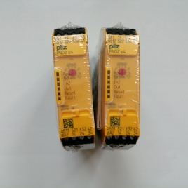 皮尔兹安全继电器 PNOZ S4 C 48-240VACDC 3 N/O 1 N/C 751134