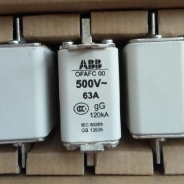 ABB熔断器 OFAFC00GG63