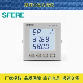 斯菲尔(SFERE) 多功能数显电力仪表  PD194E-AHY AC100V 1A-3P3W