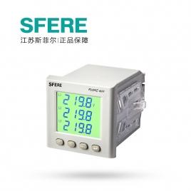 斯菲尔(SFERE) 网络电力仪表 智能电度表 PD194Z-AHY AC380V 1A-3P4W