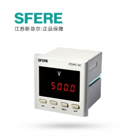 斯菲尔电气 数显单相 电压多功能表 PZ194U-3K1 AC220V