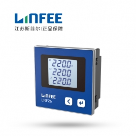 领菲(LINFEE) 三相 数显电压表 LNF26  AC380V-3P4W
